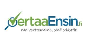 Logo Vertaa Ensin Suomi Oy
