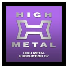 high metal production logo