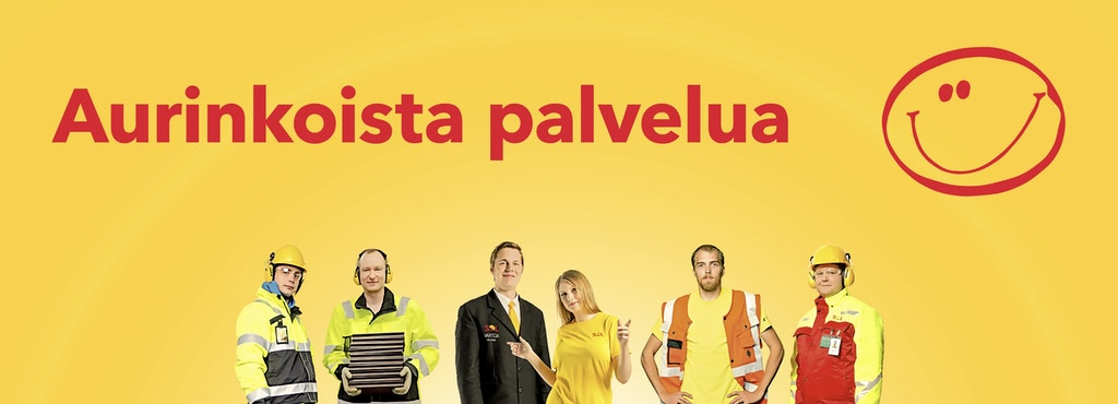 Aurinkoisia ja hyvällä asenteella varustettuja tarjoilijoita Rovaniemelle!