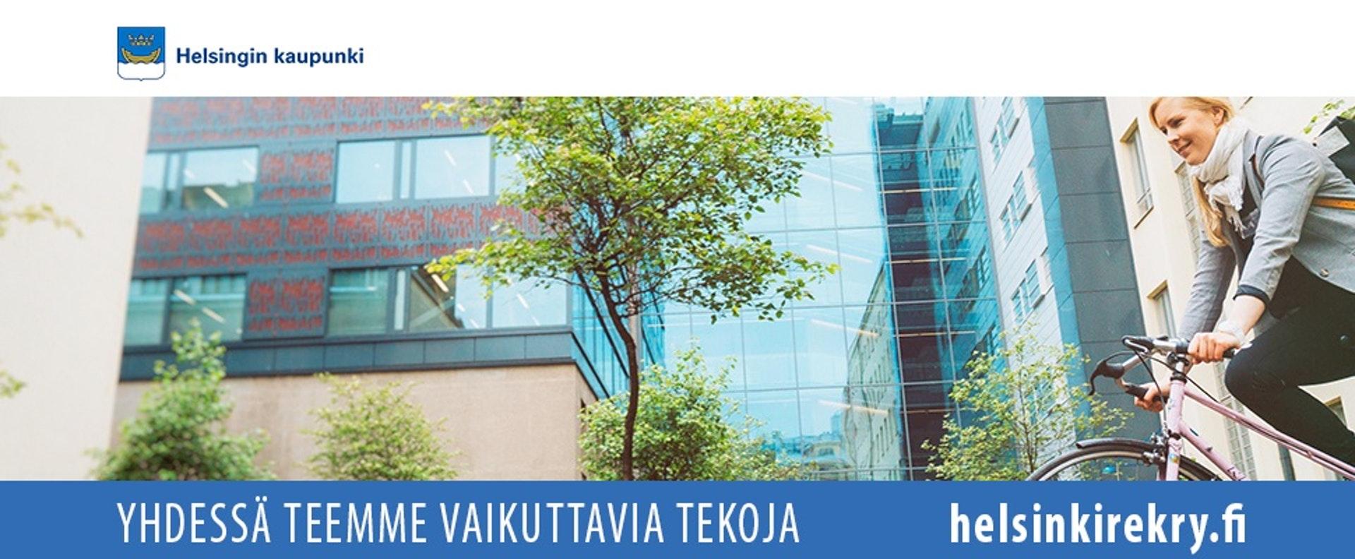Banner Henkilöstöyksikkö / co Helsingin kaupunki
