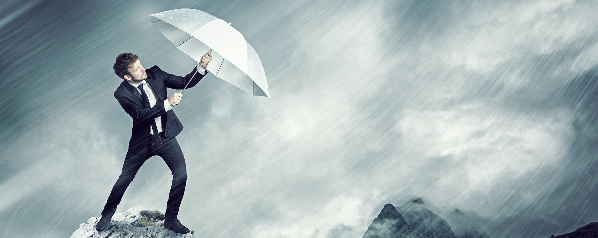 Banner Rainmaker Saleshow Oy