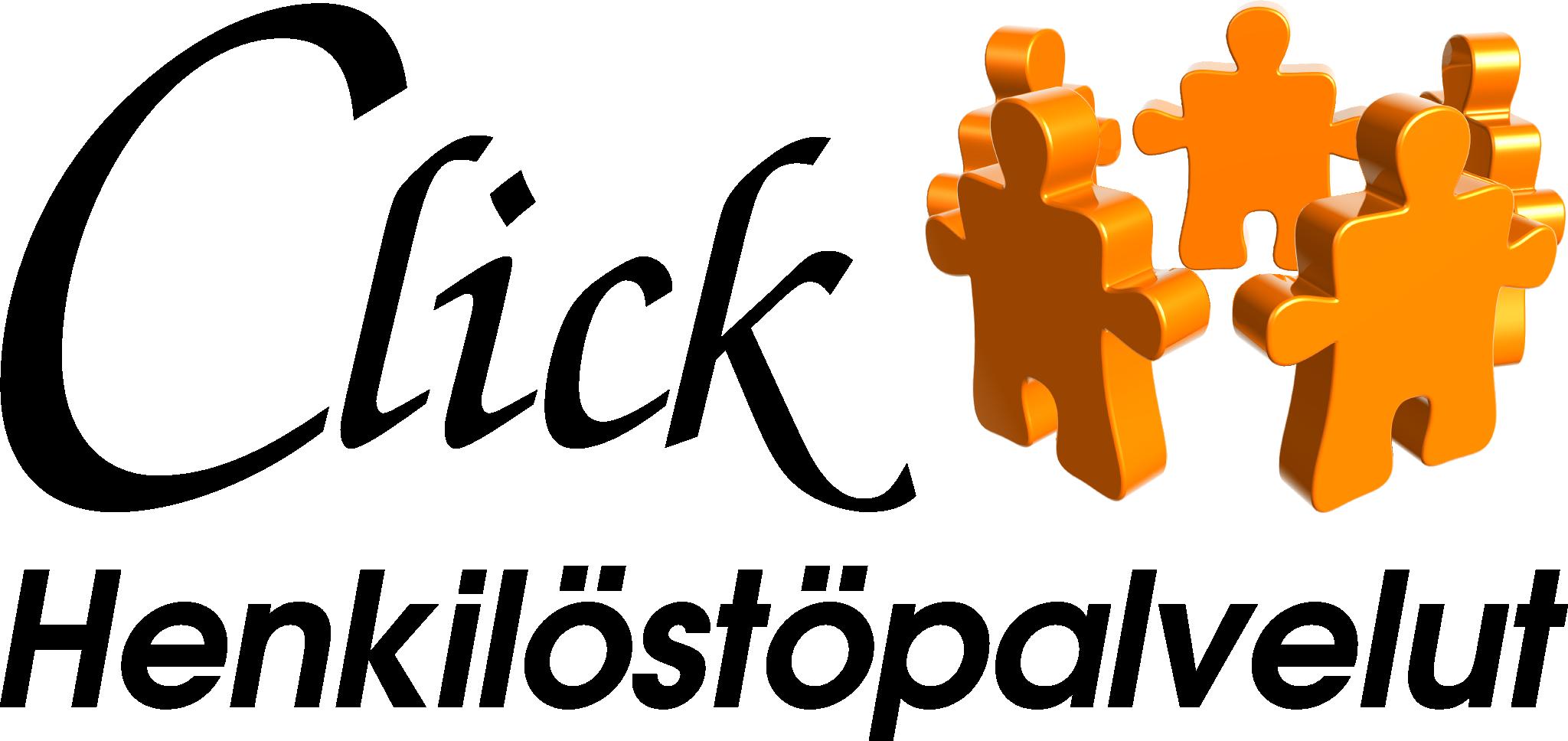 Click Henkilöstöpalvelut logo