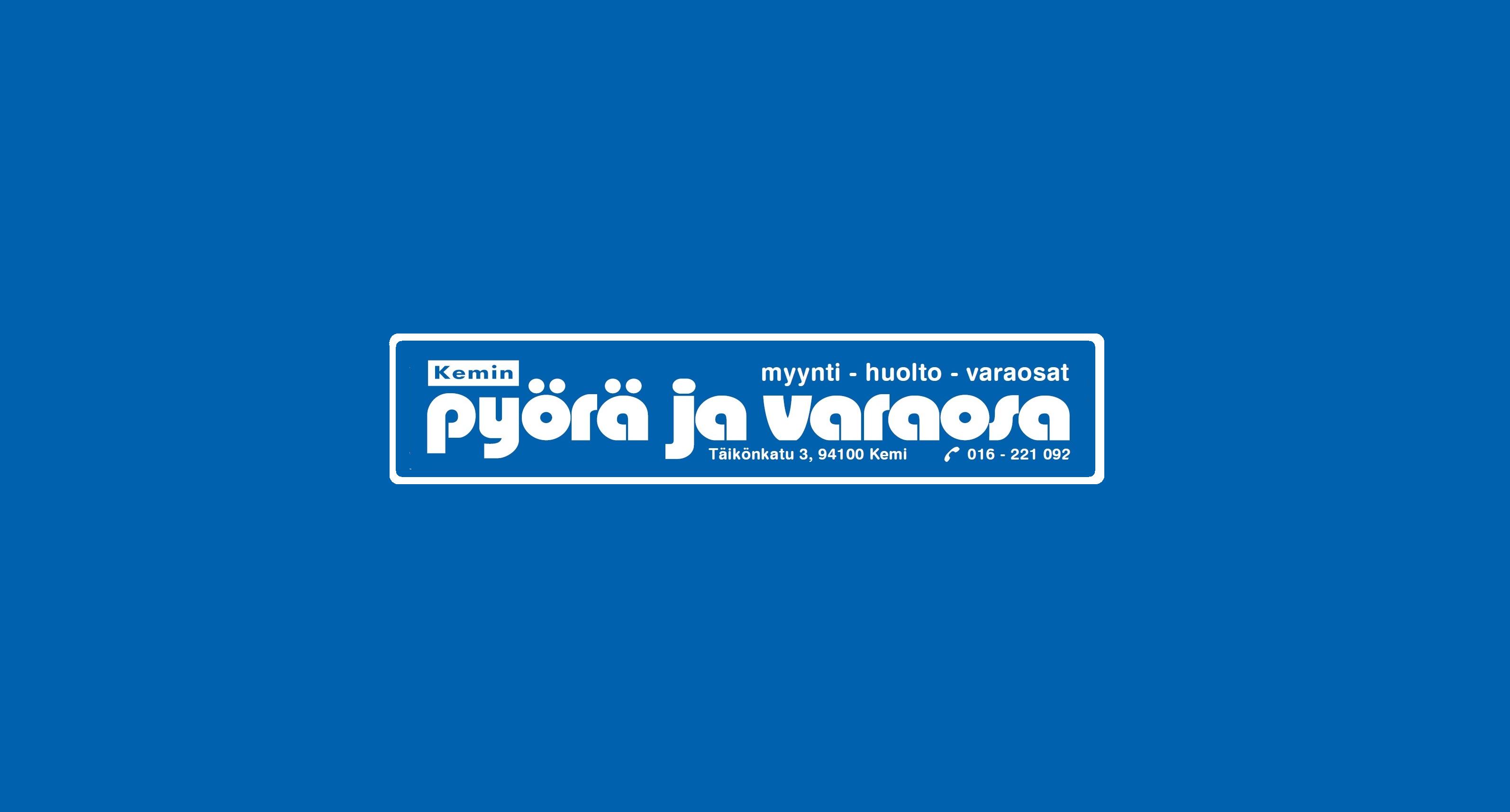 Kemin pyörä ja varaosa logo