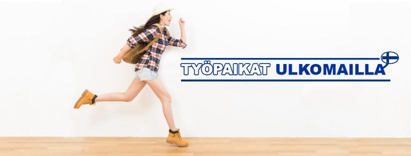 Työpaikat ulkomailla logo