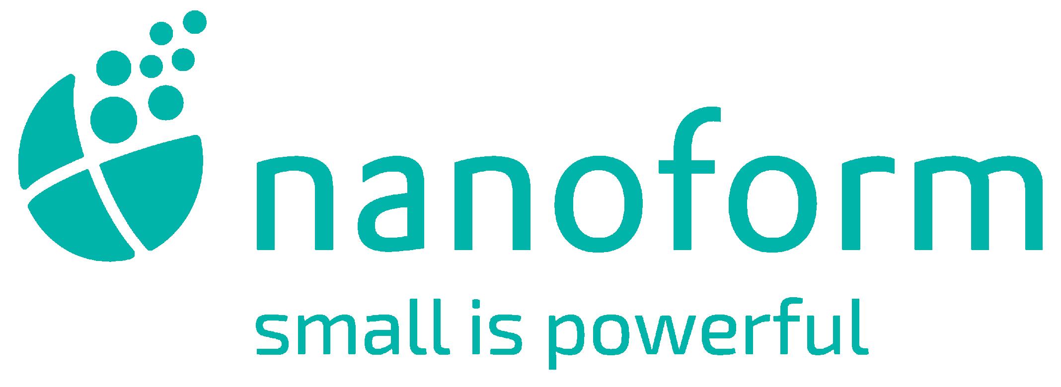 Nanoform Finland Oy logo