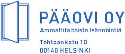 Pääovi Oy logo