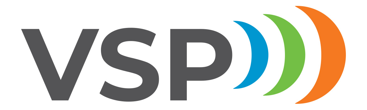 VSP (Vakka-Suomen Puhelin Oy) logo