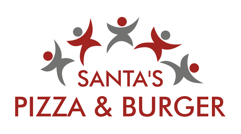 Santa's Pizza & Burger logo