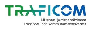 Liikenne- ja viestintävirasto Traficom logo