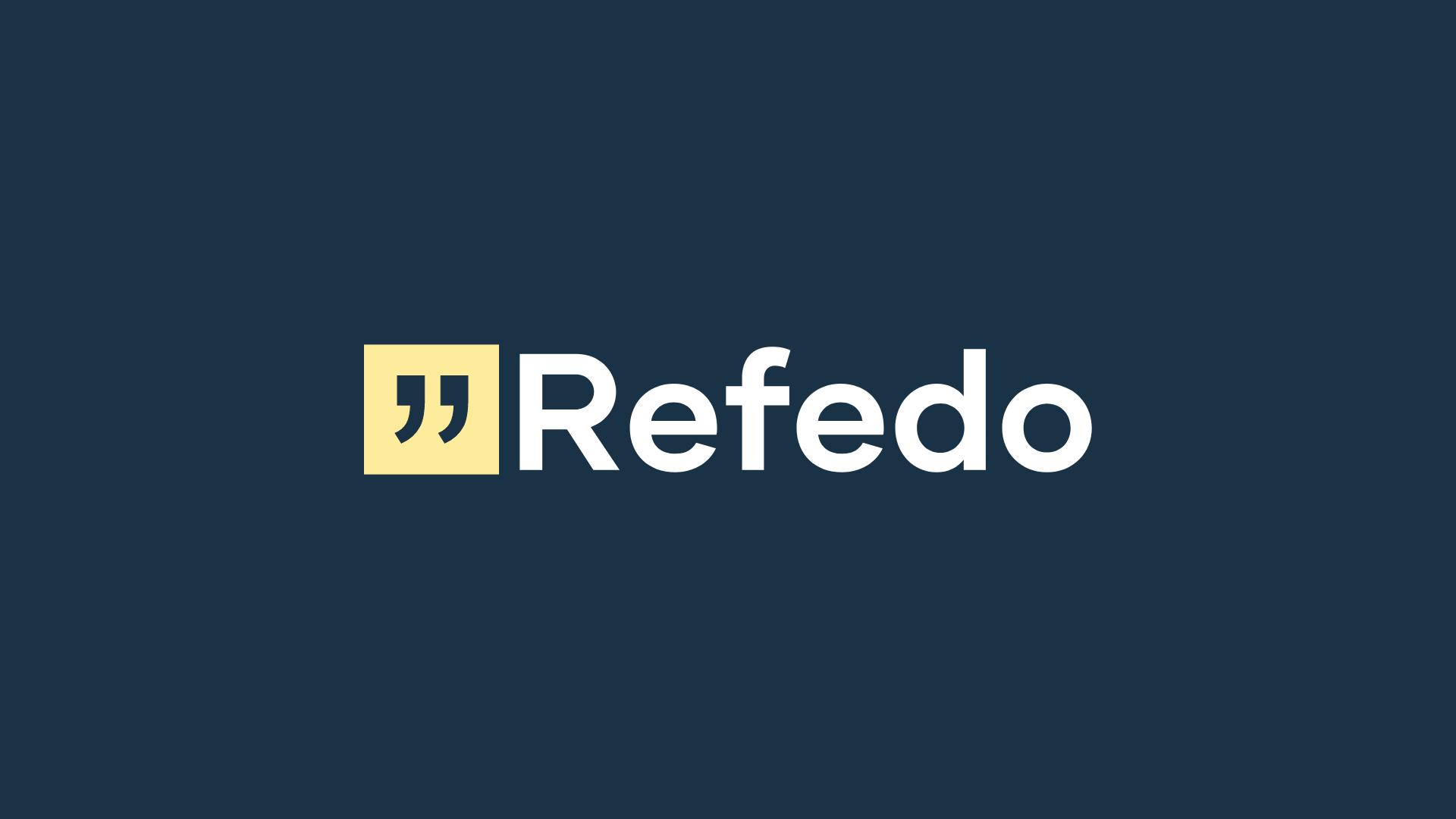 Refedo Oy logo