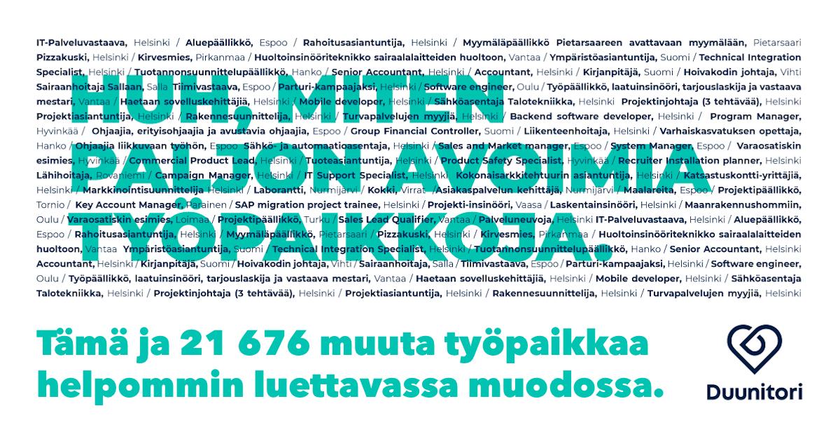 Nuorisotyöntekijä Palkka